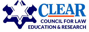 CLEAR logo: Council for Law Education & Research in Austin, TX
